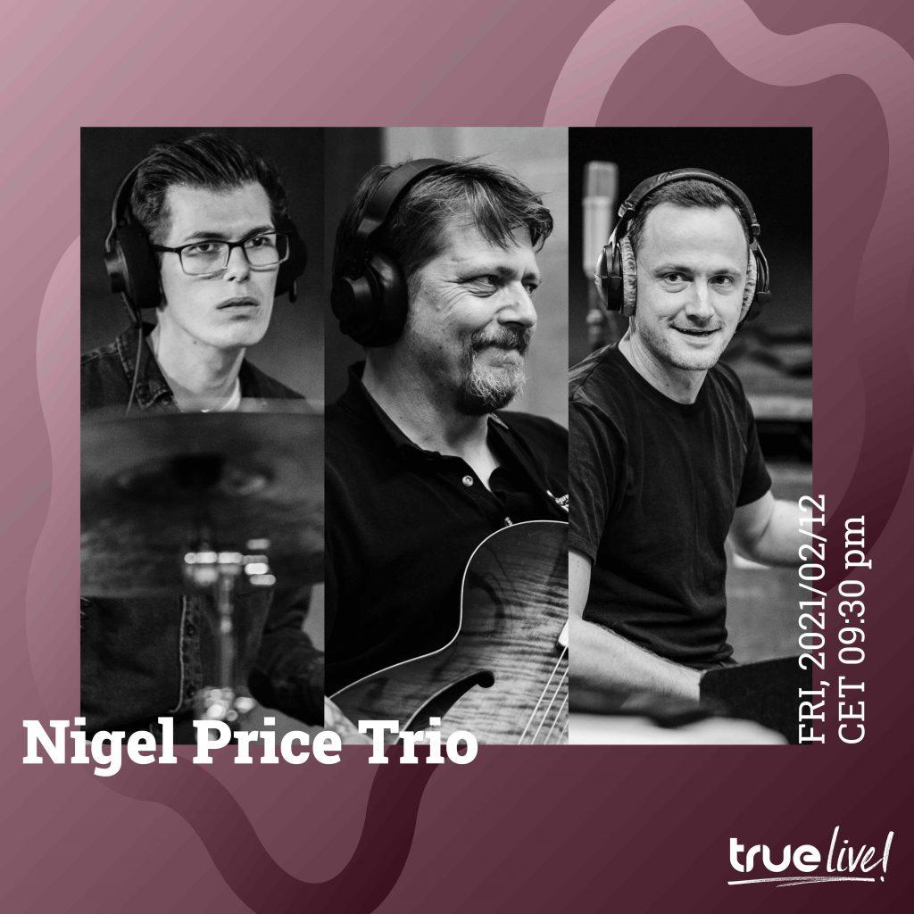 Live at Masterlink: Nigel Price Trio & Hollie Rogers in Feb 2021